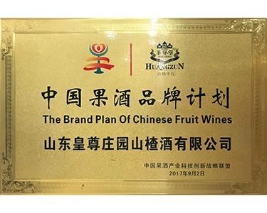 中国果酒品牌计划