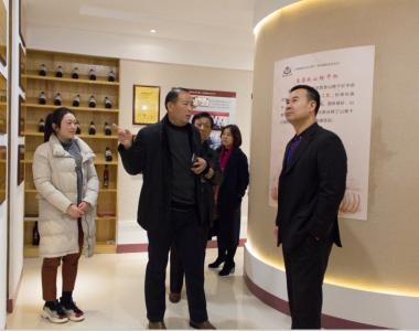 中国食品谷相关负责人莅临皇尊庄园参观交流