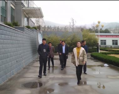 昌邑农业局领-导莅临皇尊庄园参观指导