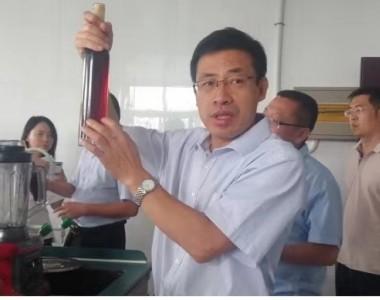 中国农科院毕金峰博士一行到皇尊庄园参观考察