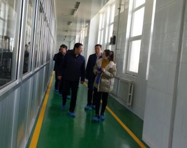 潍坊市政协领-导莅临皇尊庄园考察调研