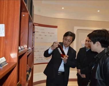 枣庄市中区团区委书记宋晓娜一行莅临皇尊庄园指导调研