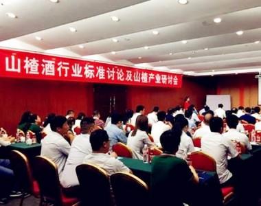 山东青州,中国山楂酒行业标准制定大会